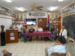ÉXITO ROTUNDO LA CONSTITUCIÓN DEL COMITÉ PRO DEFENSA DEL HONOR Y LA DIGNIDAD DEL EXILIO DE MIAMI OTRAVISTAPARCIALDELCOMITEPROHONORYDIGNIDAD