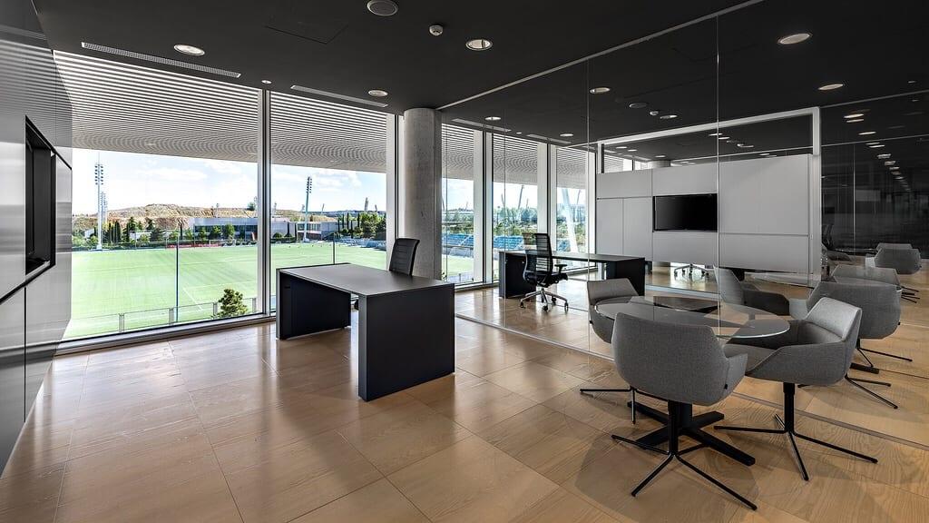 El nuevo Cuartel General del Real Madrid por dentro Img_6463
