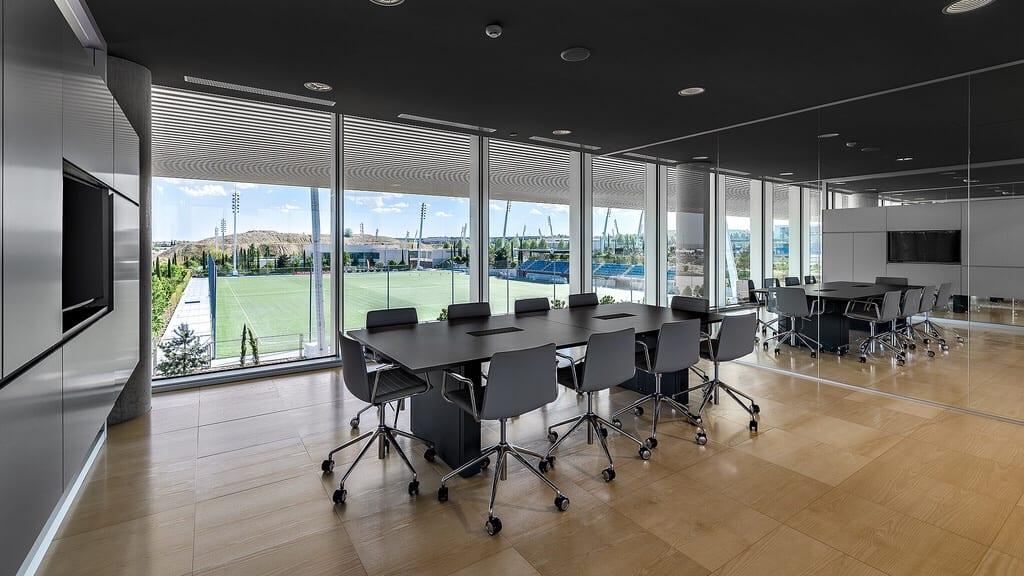 El nuevo Cuartel General del Real Madrid por dentro Img_6464