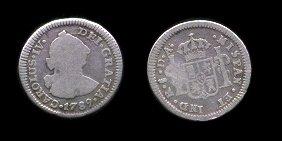 ¿Por qué en las monedas ponían CAROLUS IIII y no CAROLUS IV? Mr1789DA