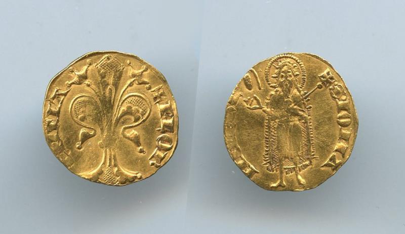 Fiorino de oro - Italia. 1267 - 1303 101095
