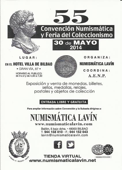 30 de Mayo Próxima convención en NH Villa de Bilbao. Conv55peque