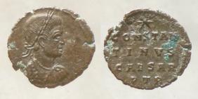 les monnaies anépigraphes pour les vicennales de Constantin Ier à Trèves 23713
