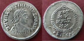 Siliques de Valentinien II 24885