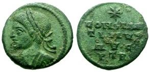 les monnaies anépigraphes pour les vicennales de Constantin Ier à Trèves 25566