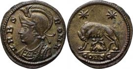 Nummus à la louve Roma 36055