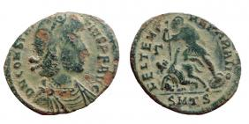 Nummus de Constance II pour Thessalonique 41922