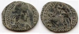 Nummus de Constance II pour Arles 42771