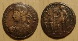 maiorina Constance II pour Rome 8737