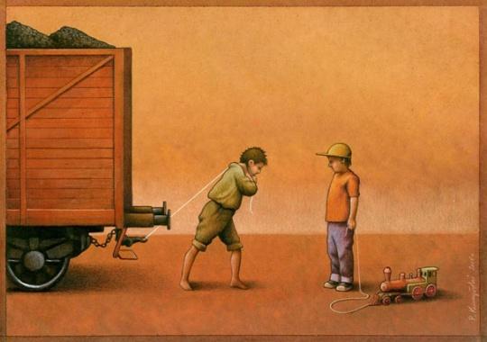 >>>Ilustraciones Satíricas..>>> 007-creative-satirical-illustrations-pawel-kuczynski