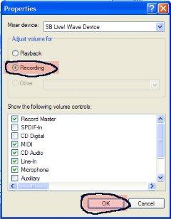 طريقة التسجيل من الكاسيت  إلى الكمبيوتر 8