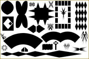 أشكال فوتوشوب Shap20