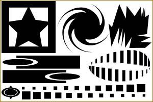 أشكال فوتوشوب Shap21