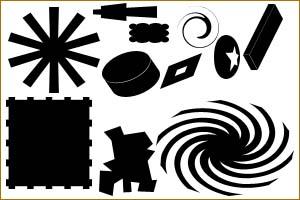 أشكال فوتوشوب Shap5