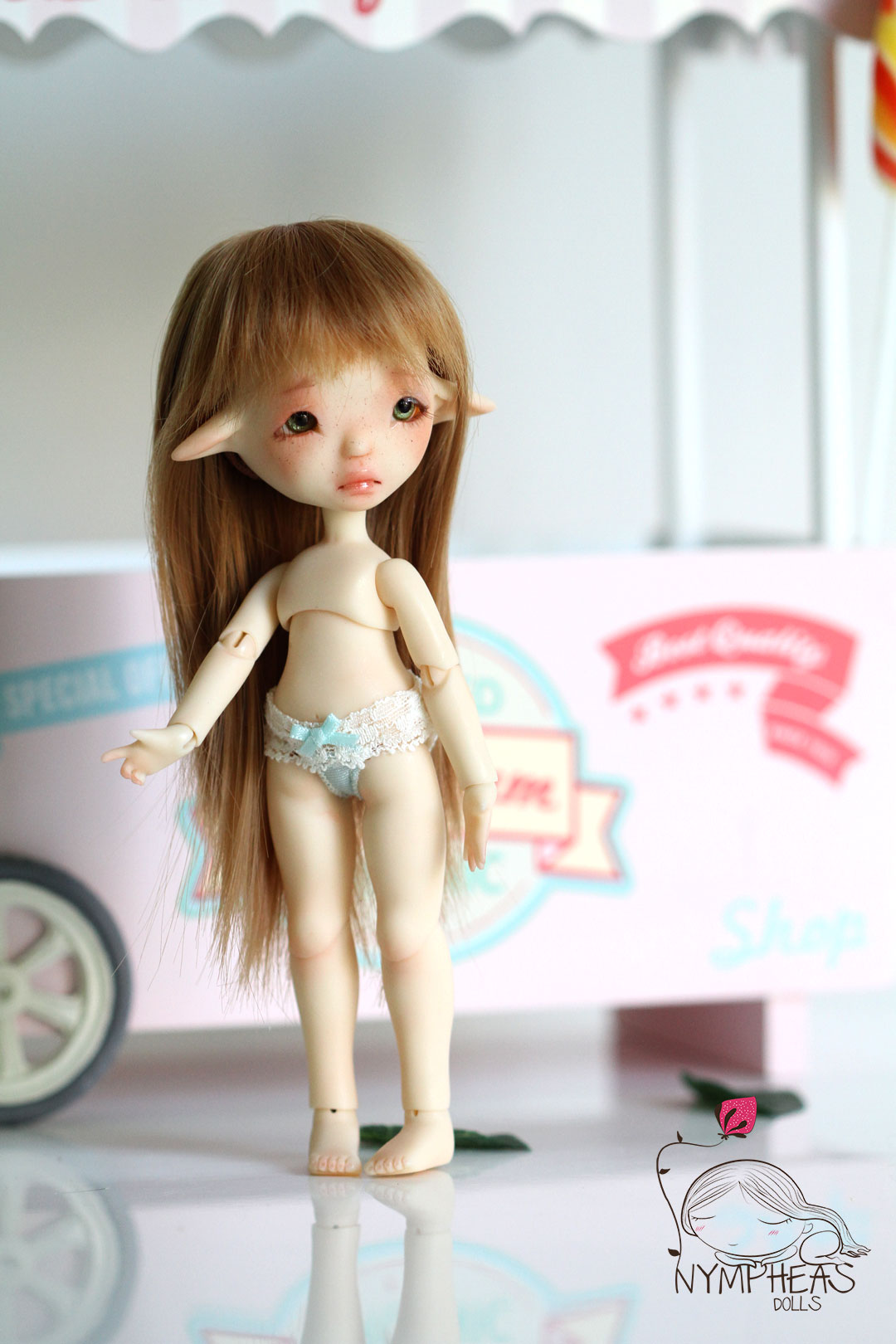 [NYMPHEAS DOLLS] Tit'herbe & Tit'Fleur Snow P35 - Page 5 Malicie-cream-nympheas-dolls-024