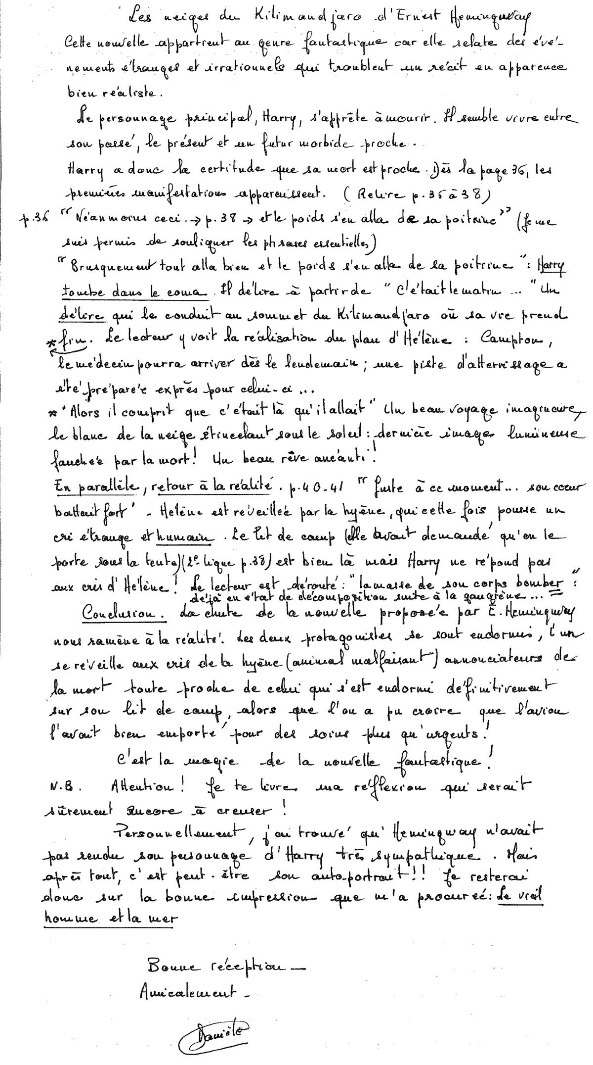 Ernest Hemingway    - Page 3 Neiges-kilimandjaro
