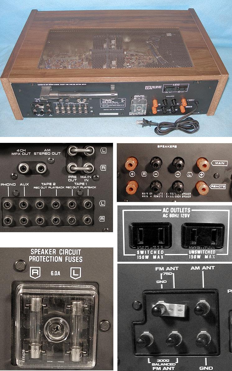 Technics SA 700 Technics_SA-700_Stereo_Receiver_collage2