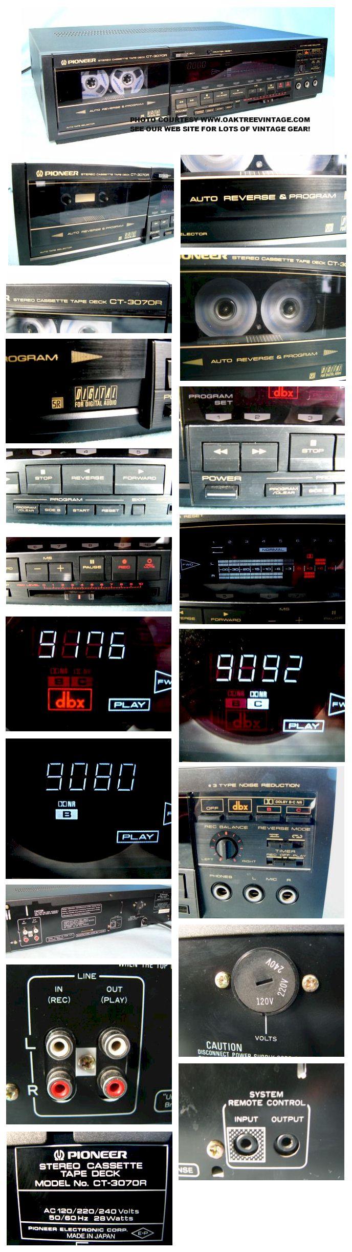 apresentação Ducar - Página 5 Pioneer_CT-3070R_Stereo_Cassette_Deck_collage