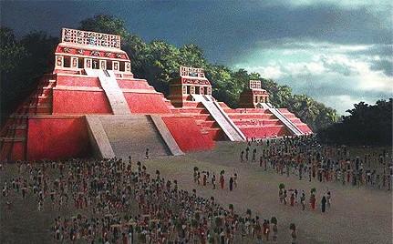 Майя, их  знания и... календарь 4450_maya3
