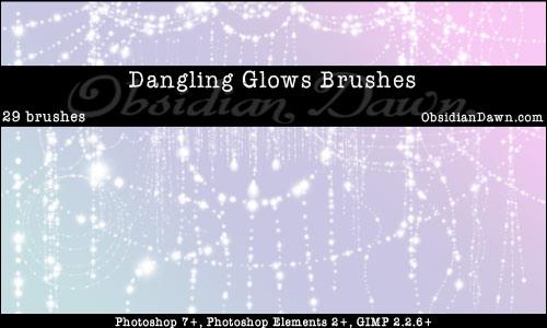 Brushes Pack Fantasia Dangling-glows-brushes