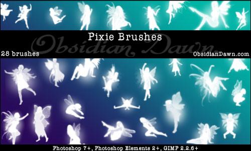 Brushes Pack Fantasia Pixie-brushes