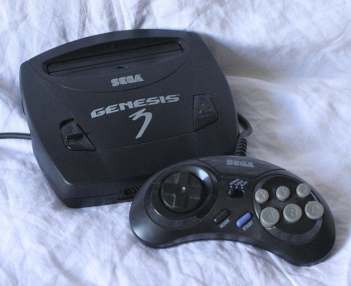MEGADRIVE COMPACT Sega-genesis3