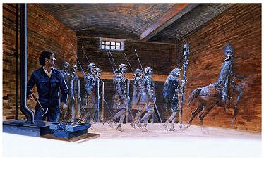 Historical Hauntings Phantom-roman-soldiers
