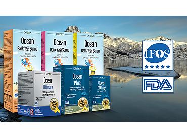 Yüksek Omega 3 kalitesi ile Ocean Balık Yağı 1