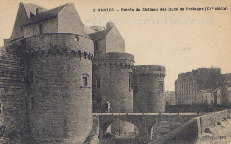 Villes et villages en cartes postales anciennes .. 44_Nantes-Chateau.94