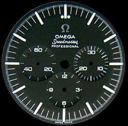 Omega Speedmaster 69/861 : la plus moche et la moins chère.. Ome321dial1