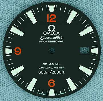 Sold: Brand new Omega Planet Ocean bezel and dial Omedial2500-2