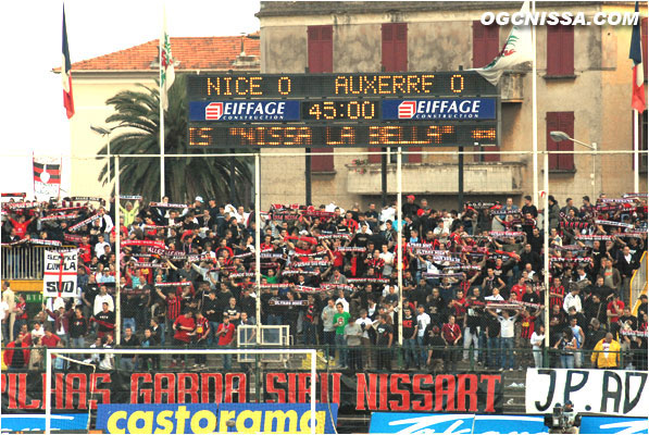 L1 : Nice - Auxerre 01
