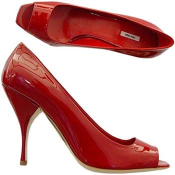 Këpucët e nuses! Scarpe-miumiu
