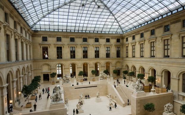 vocabulaire - Écolière - Page 47 Paris-musee-louvre-cour-marly-resize