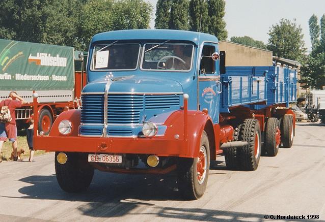 Njemački ex-proizvođači L00290-Krupp-Mustang-Kipperlastzug-lichtblau-rot