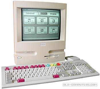 Débat : Le plus bel ordinateur 8/16 bit - Page 2 Amstrad_PCW16_Running_s1