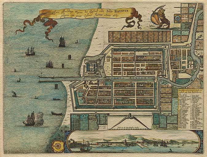 Stare geografske mape i karte - Page 6 Old-Jakarta