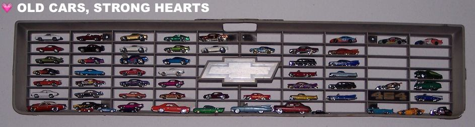 Display idea & 1968 24hr-racing ScaleSaturday_JayBeausoleil_grillCarDisplay