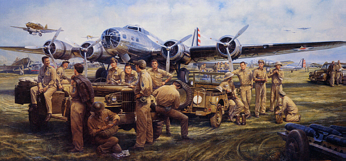 Boeing B-17 Flying Fortress They_Fought_With_What_They_Had