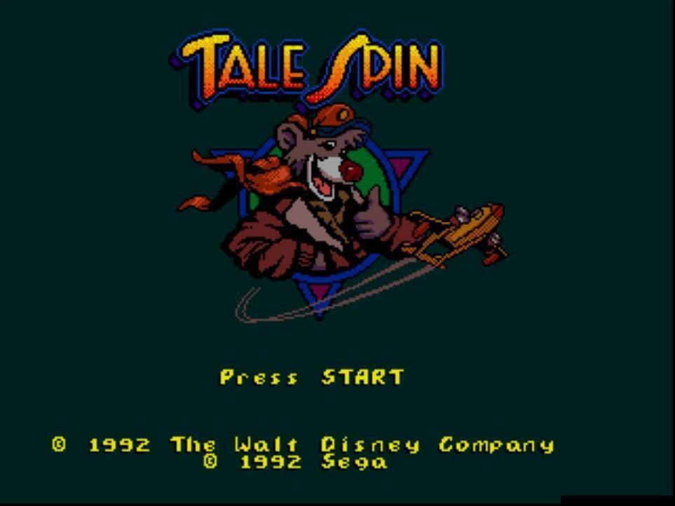 Super Baloo/Talespin (Playmates et autres) 1991 Talespin%20(Megadrive)1