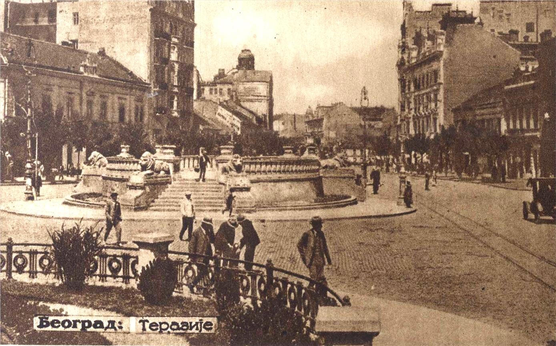 Slike starog Beograda Belgradeterazije1925