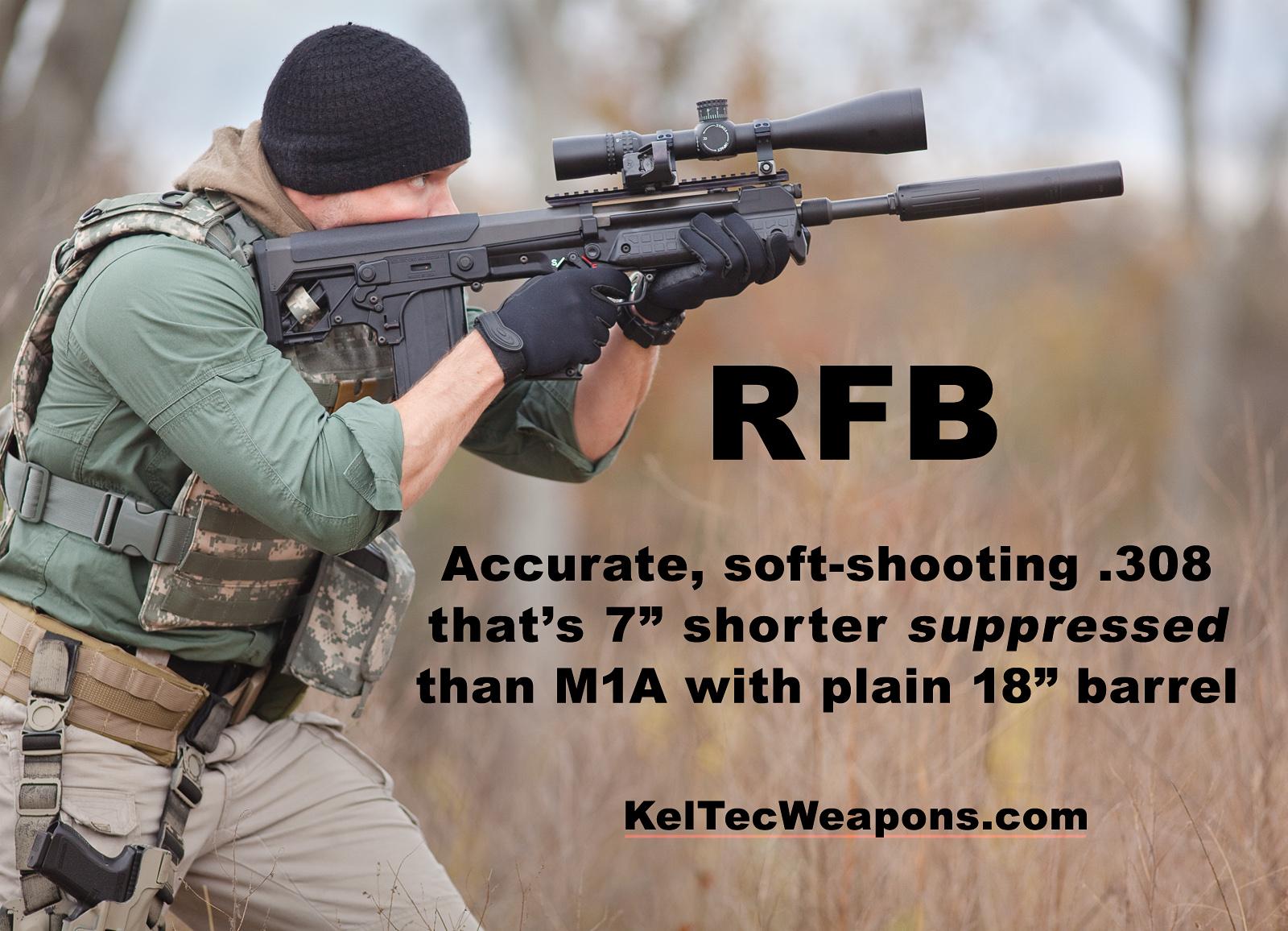 Rifle de eyección frontal bullpup KelTec RFB 7.62 OTAN RFB_0857