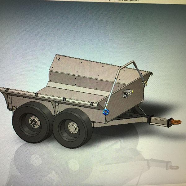 escavatore gommato Dump-trailer-for-excavator-600-0309-237e38ceaf