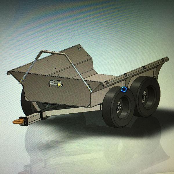 escavatore gommato Dump-trailer-for-excavator-600-0312-38337456f3
