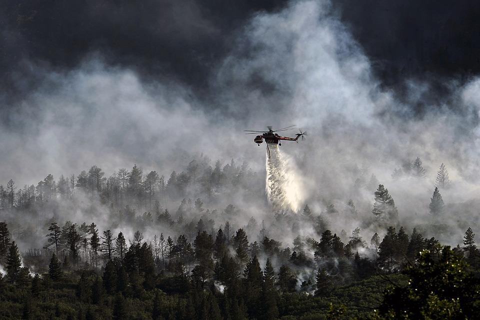 Feux de Forêts : l'OMPE demande en urgence la tenue d'états généraux ! Helicopter-dropping-water-595422_960_720
