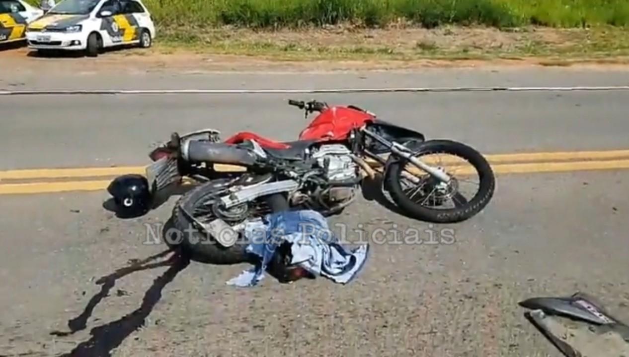 Casal sofre acidente de moto na rodovia SP-342, entre São João e Pinhal 76b869bc-dc6c-491c-83c0-db5ce80a811f