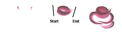 "техника росписи ""One stroke""  Rosebud"