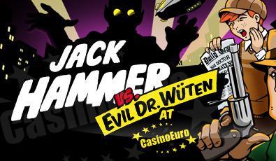 10 Free spins på Jack Hammer - Vera&John Jackhammer-slot