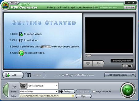 اكبر مكتبه برامج متوافقه فقط لـ Windows 7 S-free-psp-converter