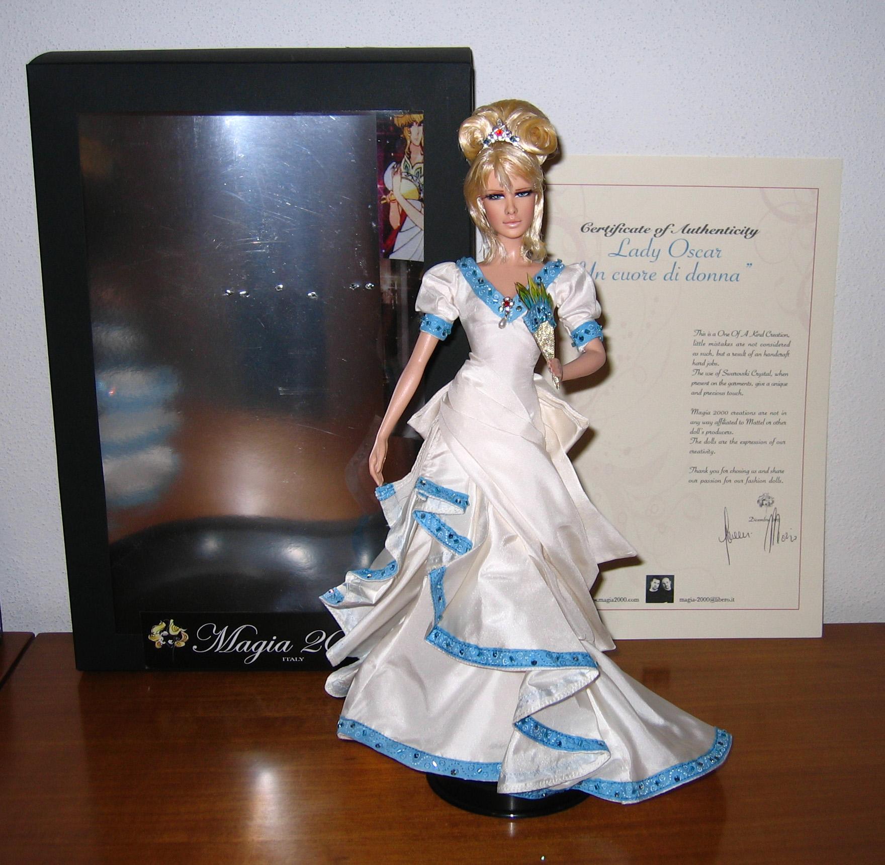 Petite revue des poupées Lady Oscar Foto644